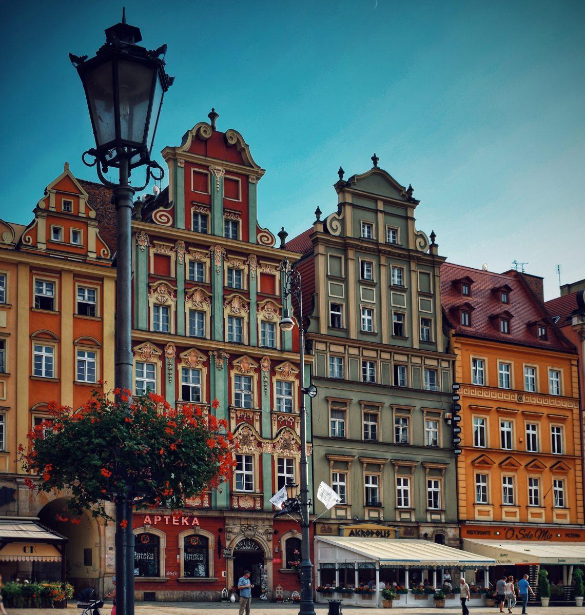 Wroclaw, Pologne, Rynek, vacances
