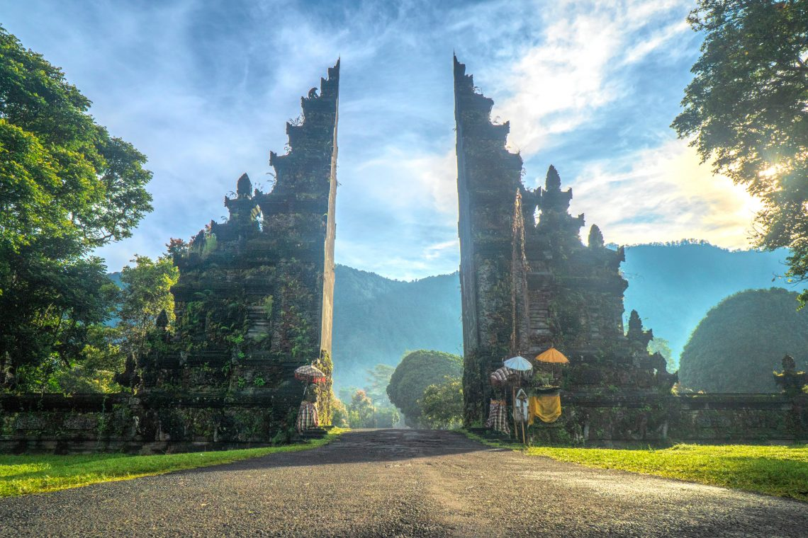 Candi bentar, porte, Bali, Indonésie, Asie, île des Dieux, voyage, blog, vitaminsea.fr
